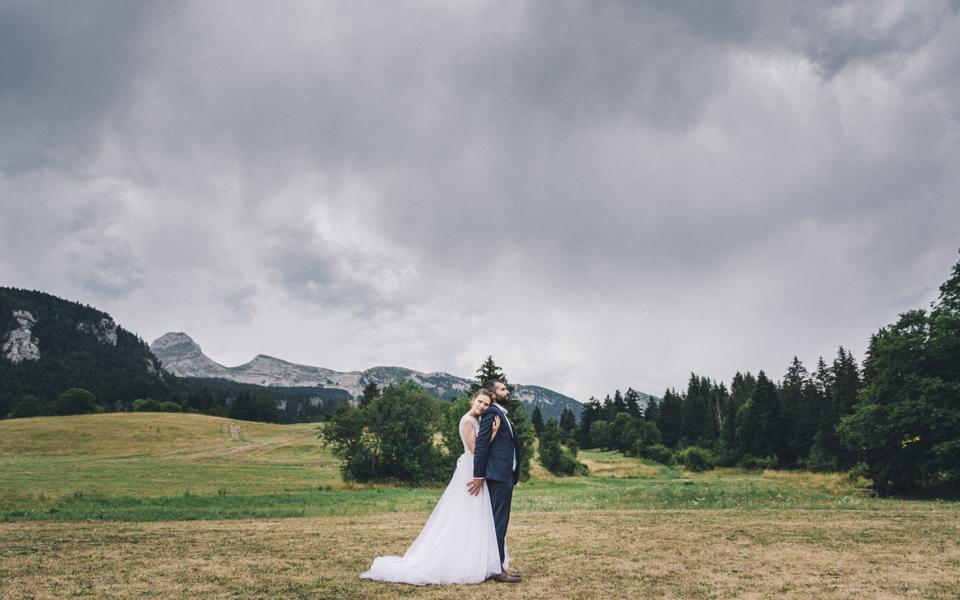 Mariage d'Anna et Romain à Corrençon-en-Vercors