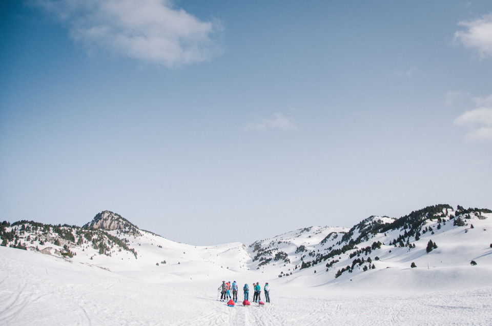 Winter roaming in the Vercors with Mountain by Women