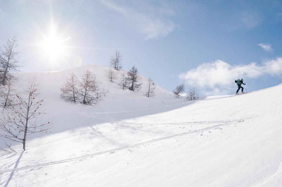 6 days of ski touring in Larche, Ubaye